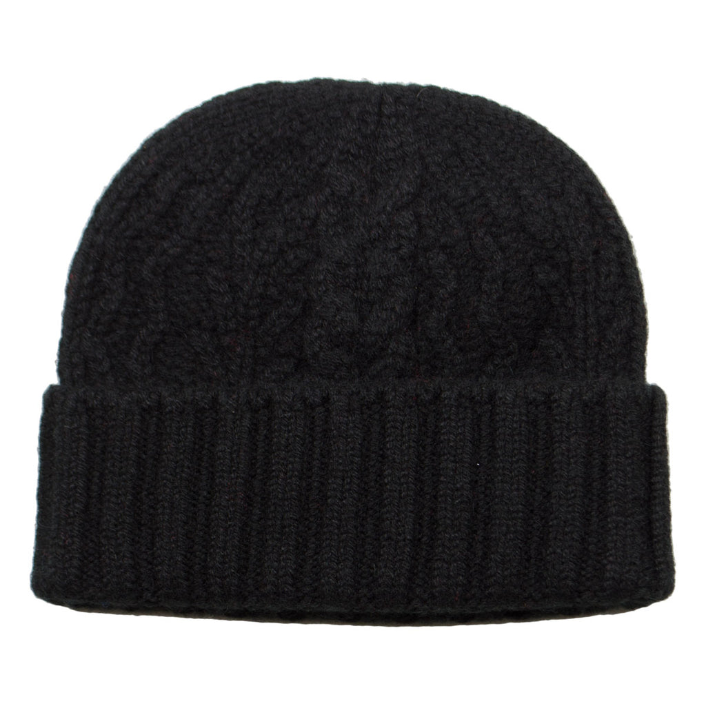 cableami - Cashmere Alan Beanie - Black