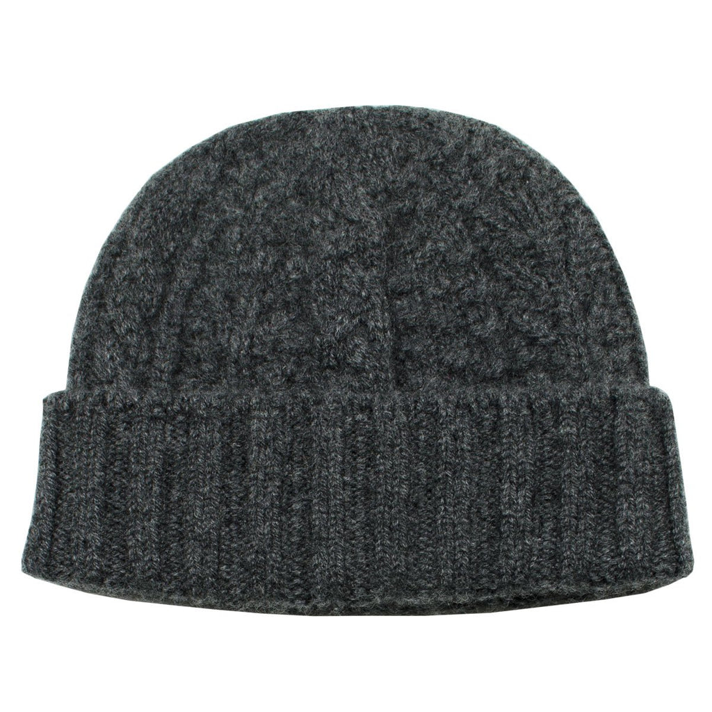 cableami - Cashmere Alan Beanie - Gray