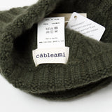 cableami - Cashmere Alan Beanie - Olive