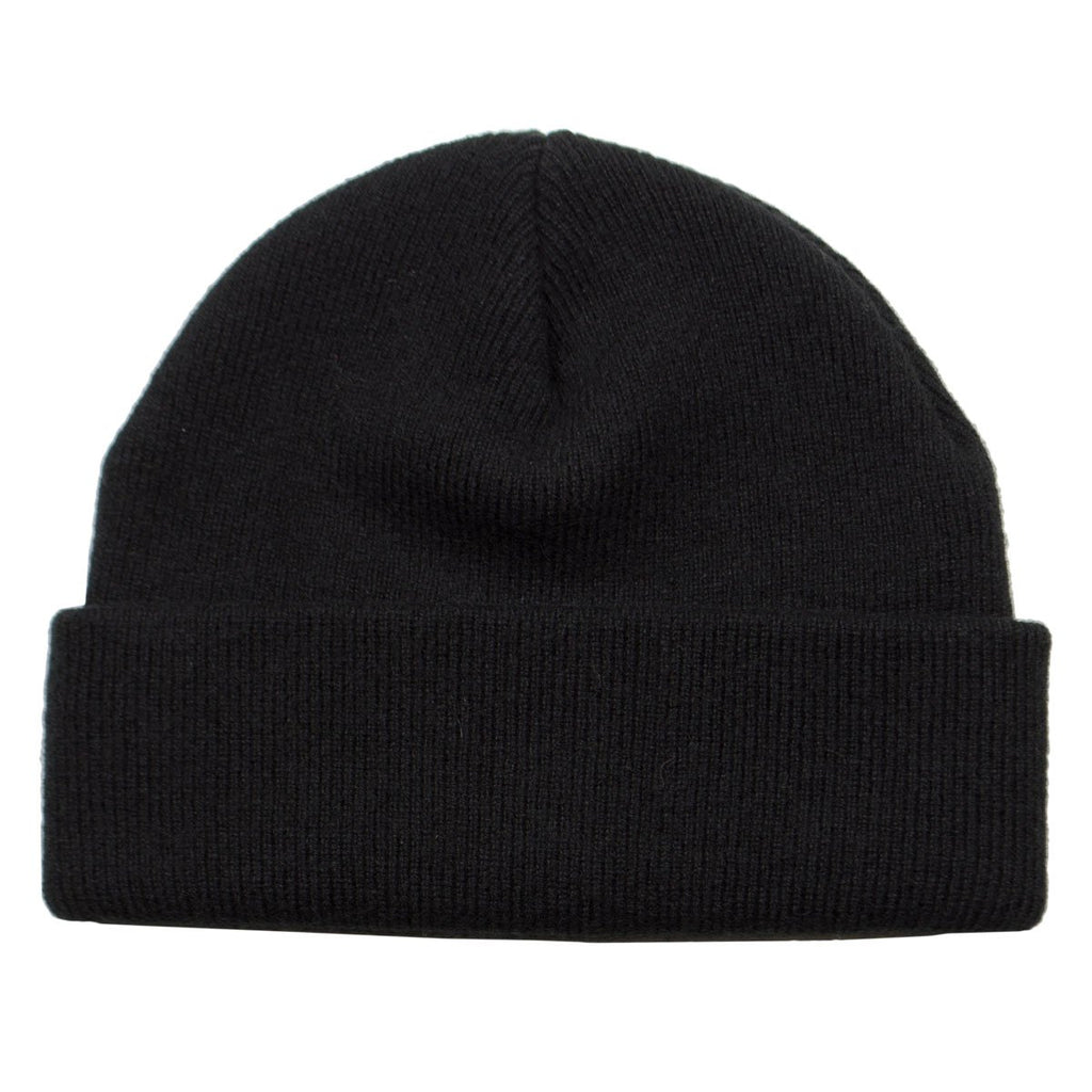 cableami - Cashmere Double Beanie - Black