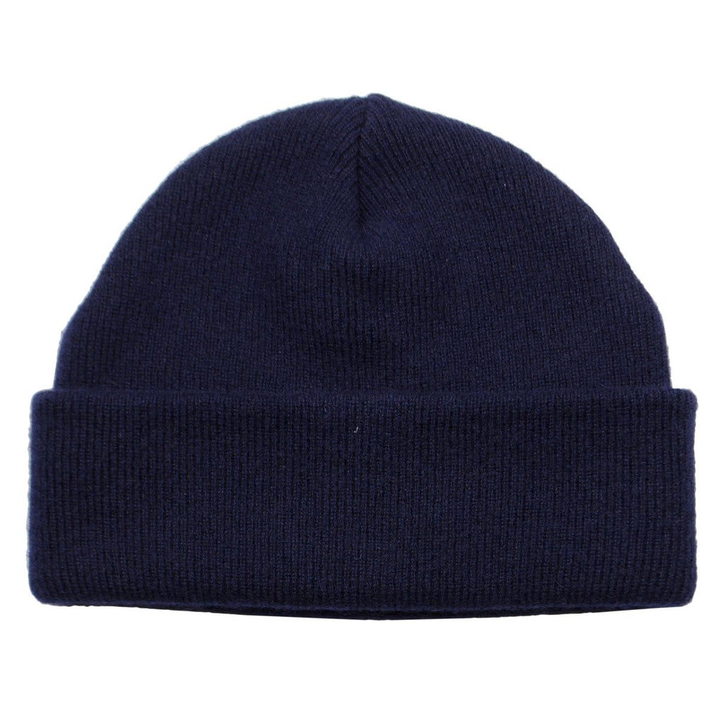 cableami - Cashmere Double Beanie - Navy