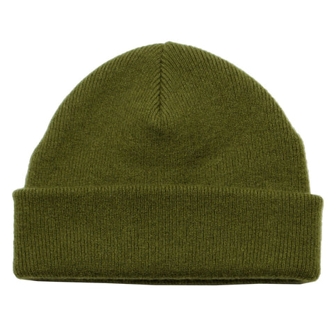 cableami - Cashmere Double Beanie - Olive