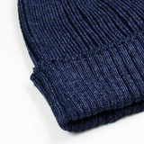 cableami - Cotton Linen Beanie - Navy