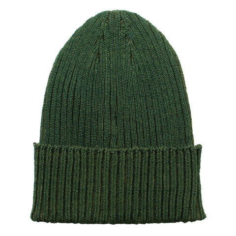 cableami - Cotton Linen Beanie - Olive