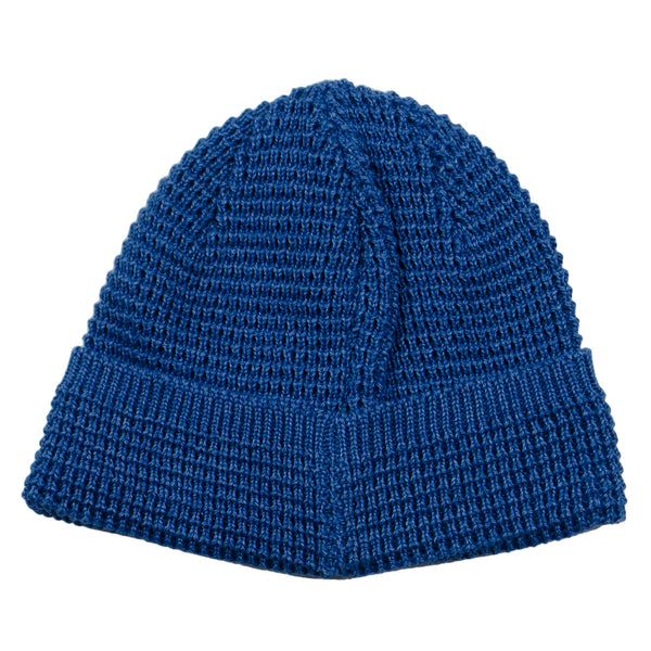 cableami - Denim-like Cotton Beanie - Blue