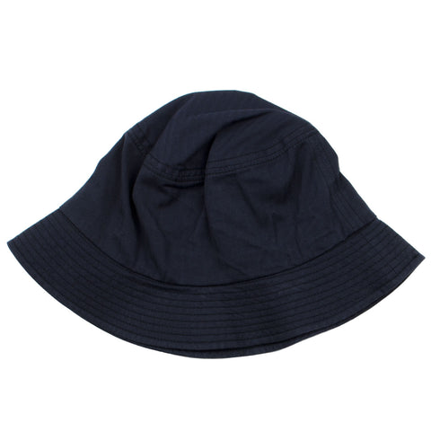 cableami - Herringbone Bucket Hat (Plain) - Black