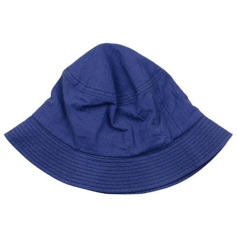 cableami - Herringbone Bucket Hat (Plain) - Blue