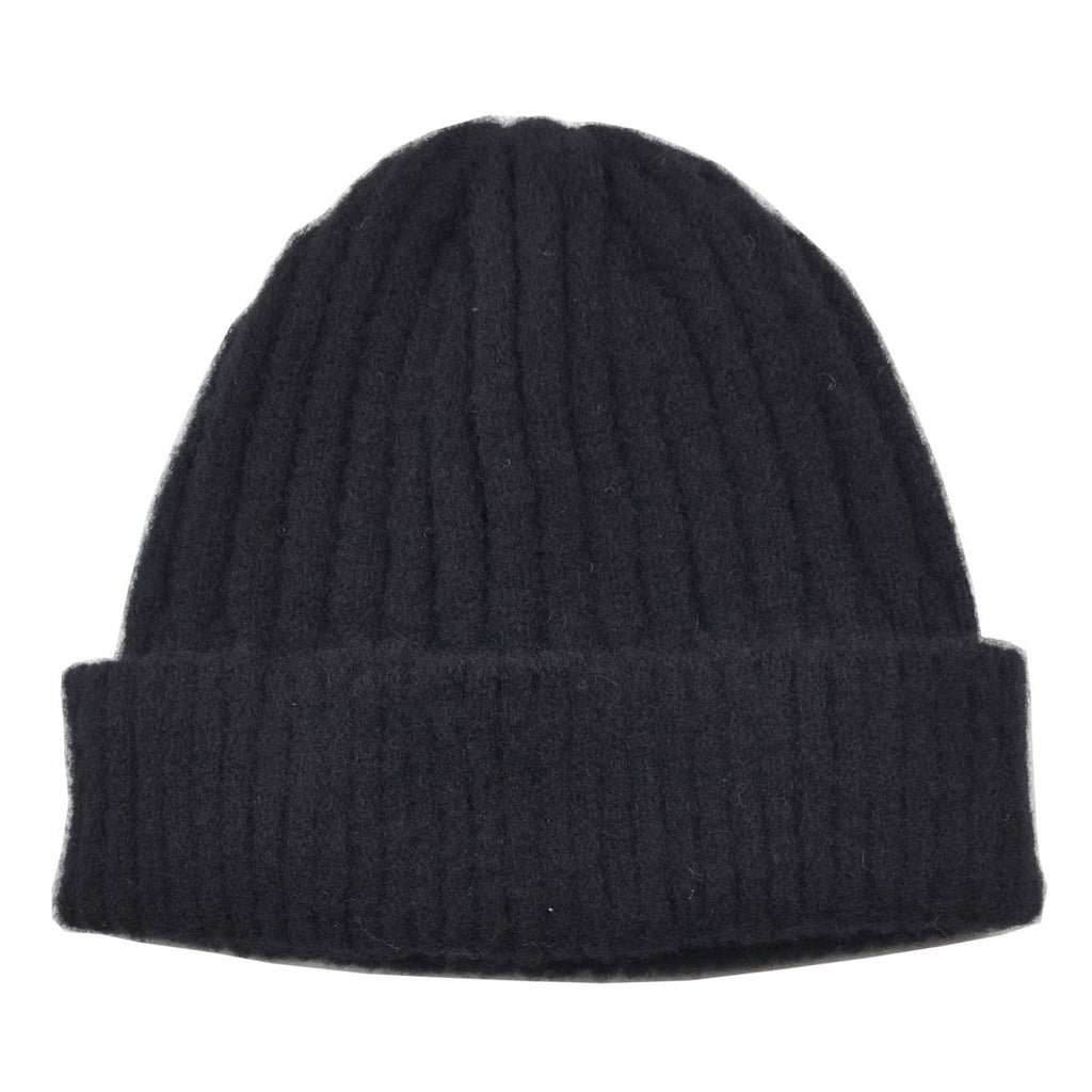 cableami - Shaggy Dog Beanie - Black