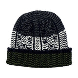 cableami - Shetland Wool Beanie - Navy