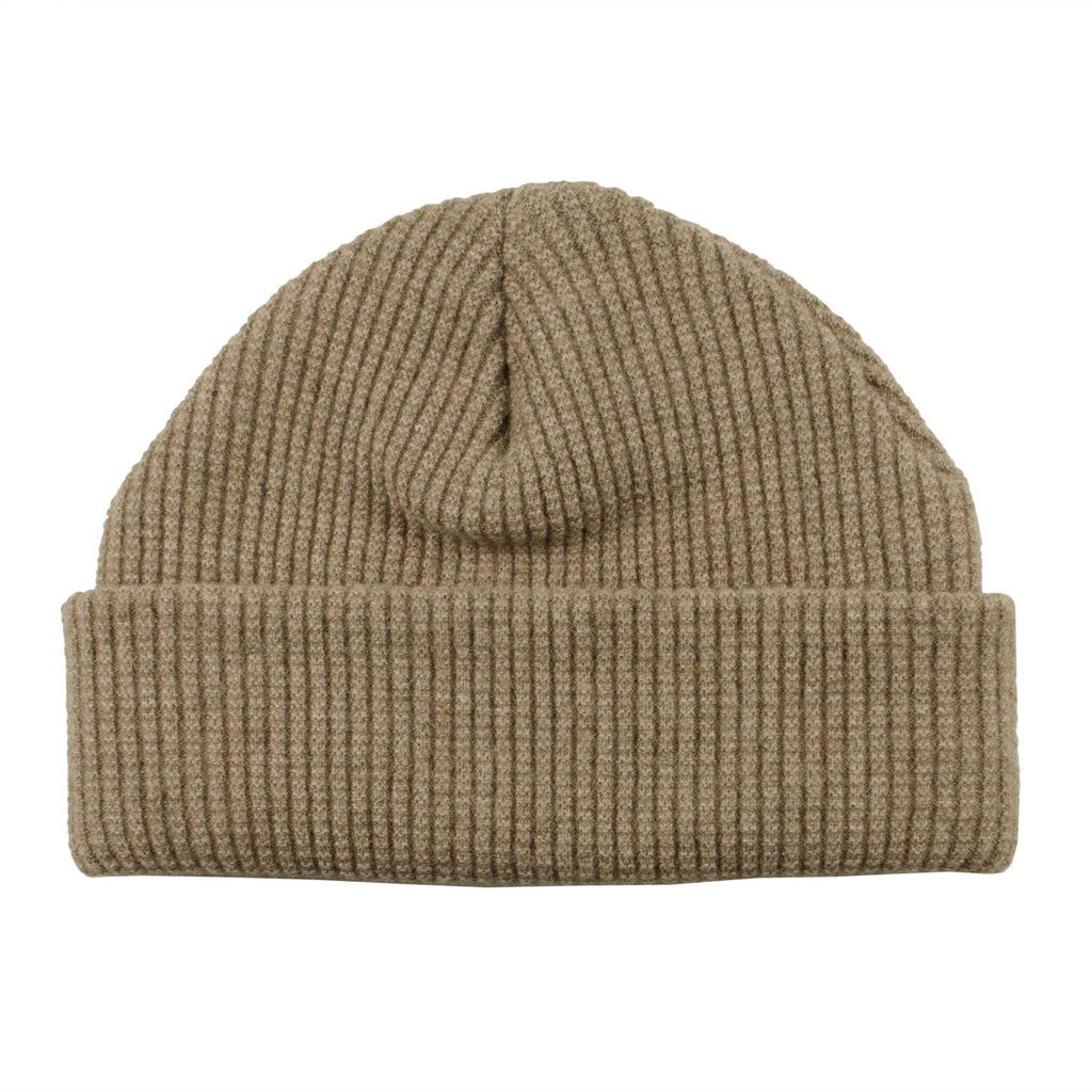 cableami - Waffle Beanie (30% Cashmere) - Beige