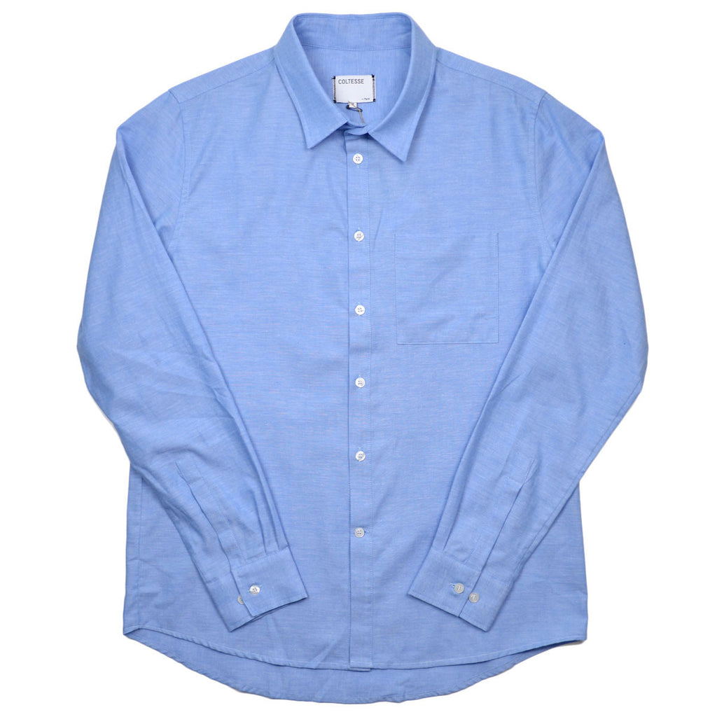 Coltesse - Iyo Classic Shirt with Pocket - Light Blue