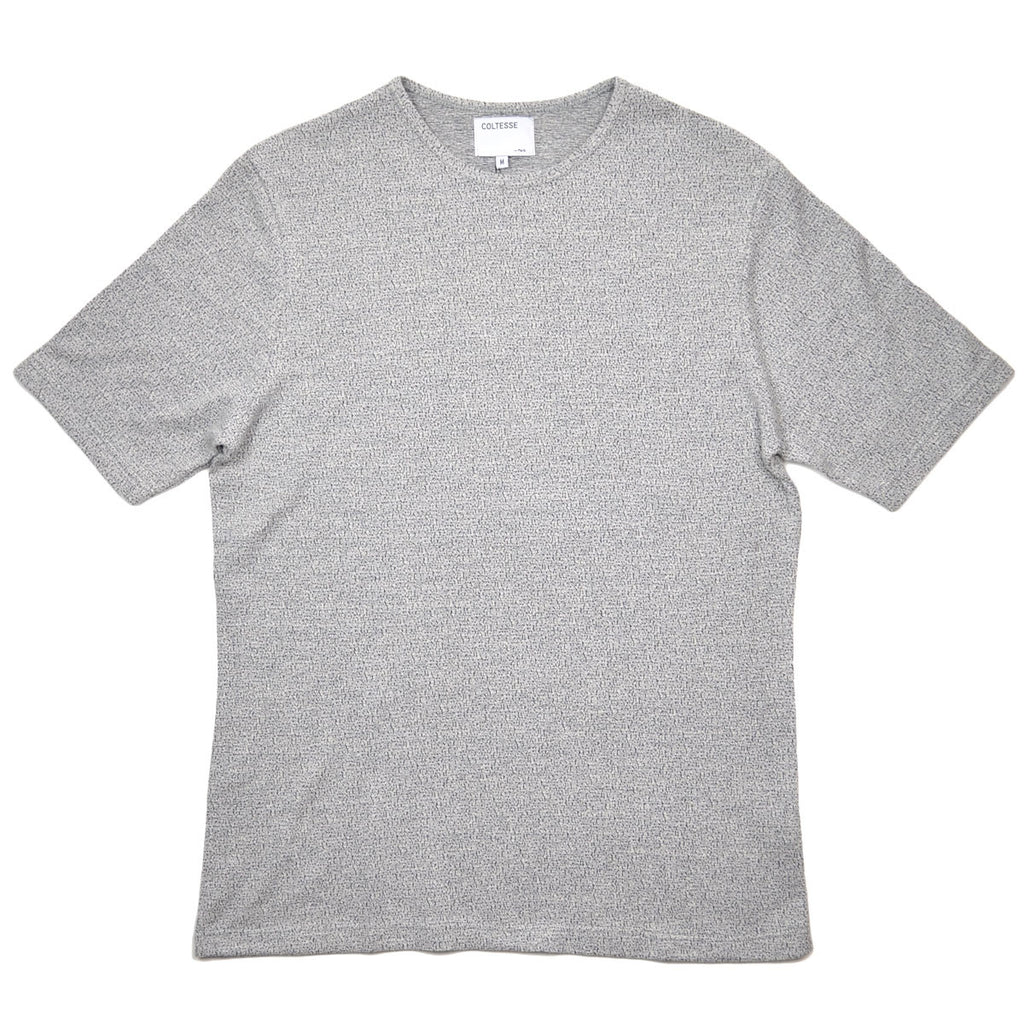 Coltesse - Izanami Cotton Linen T-shirt - Heather Grey 1