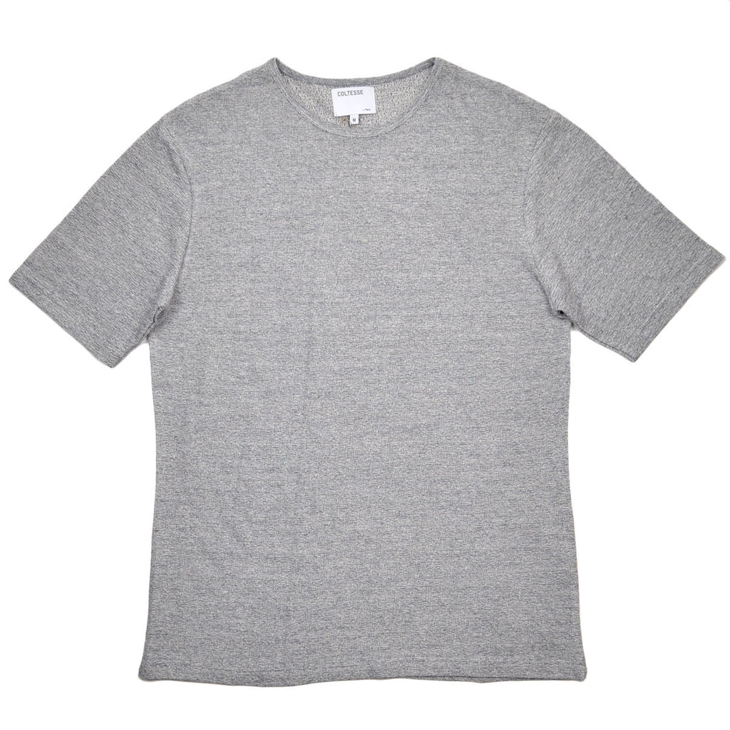 Coltesse - Izanami Cotton Linen T-shirt - Heather Grey 2