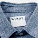 Coltesse - Lucidus Shirt - Mouliné Blue