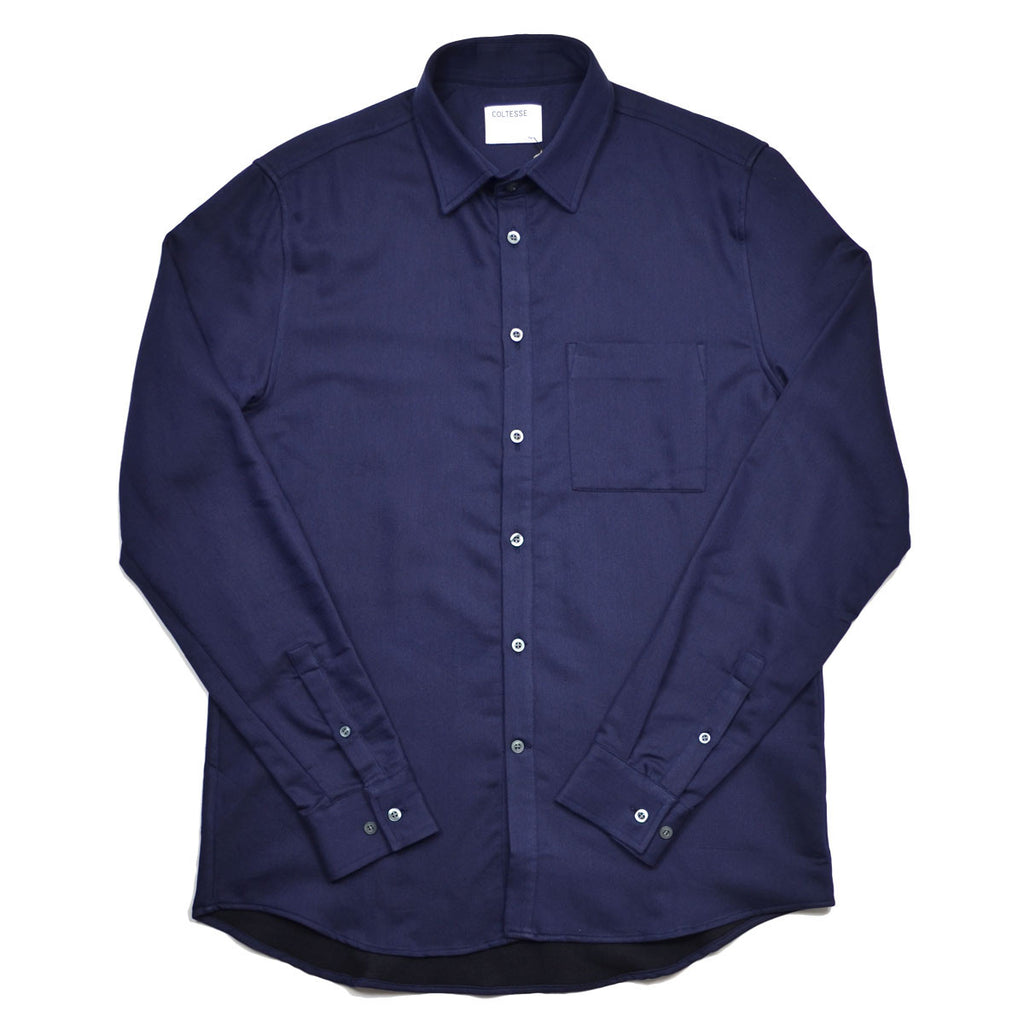 Coltesse - Nadejda Pocket Shirt - Navy Moleskine