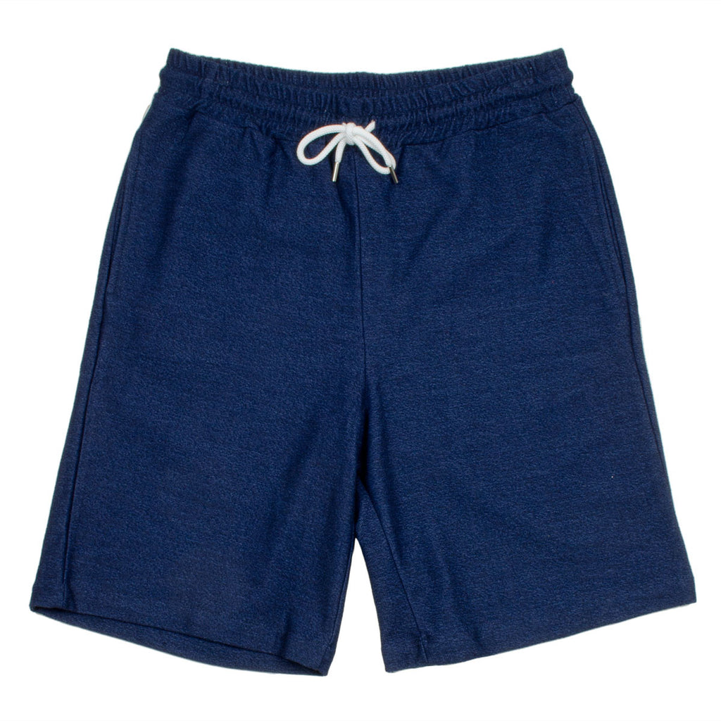 Coltesse - Nata Reverse Fleece Shorts - Blue