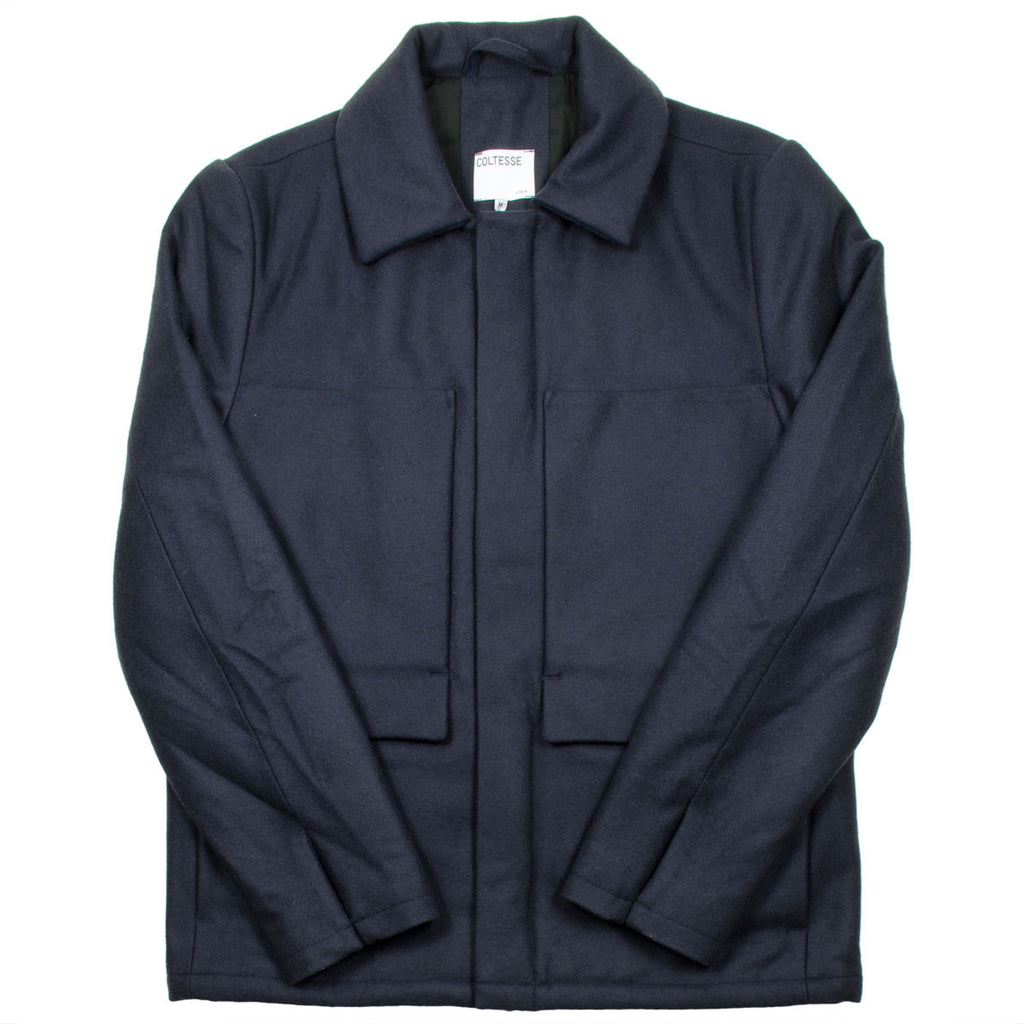 Coltesse - Nolan Wool Jacket - Dark Navy