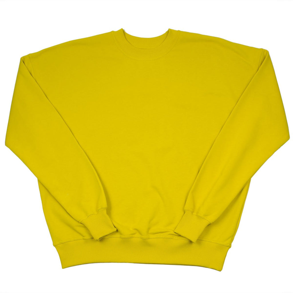 Coltesse - Sador Oversized Sweatshirt - Yellow