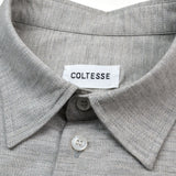 Coltesse - Tukusi Oversize Shirt with Dropped Shoulders - Heather Grey