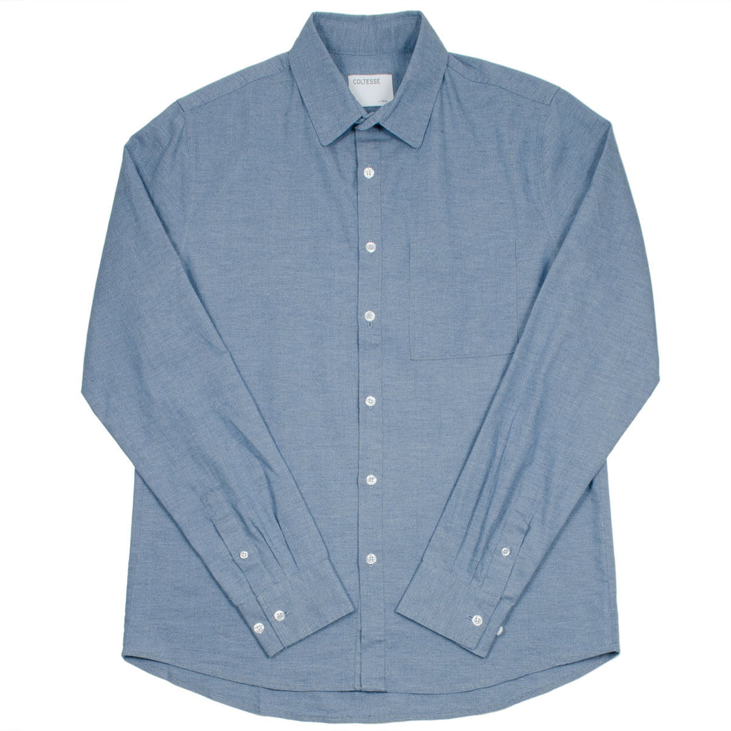 Coltesse - Vendredi Classic Shirt - Mixed Blue