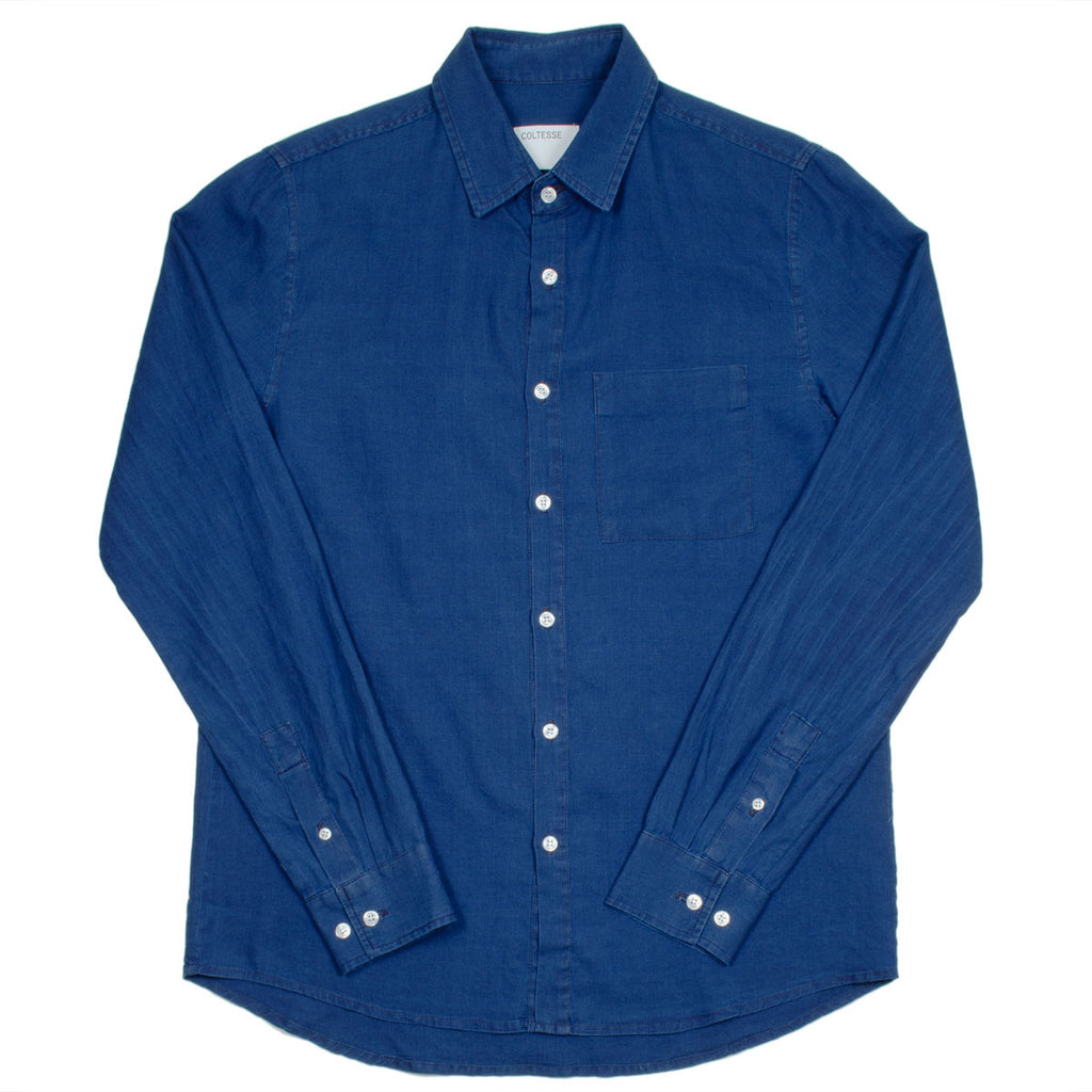 Coltesse - Vendredi Classic Shirt - Washed Blue