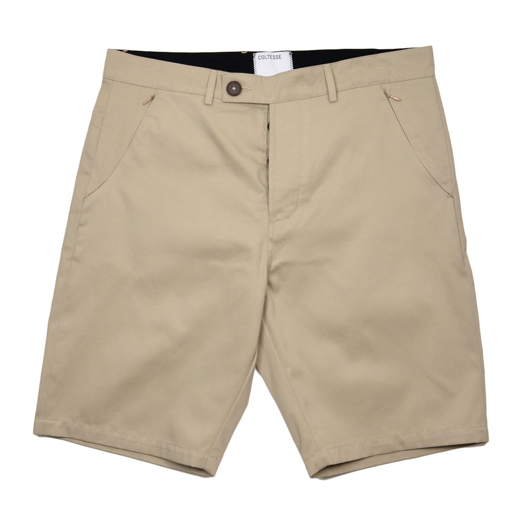 Coltesse - Yomi Shorts with Hidden Zip Pockets - Beige