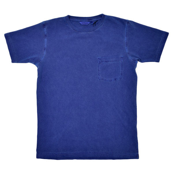 Dana Lee - Double-needle Tee - Blue