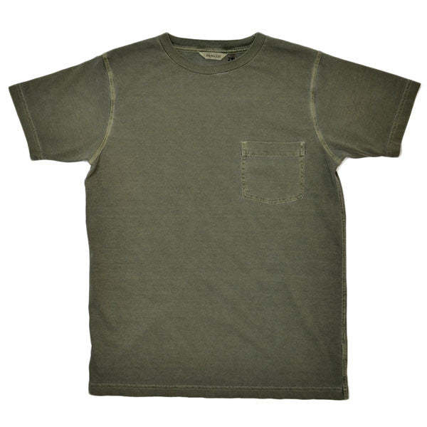 Dana Lee - Double-needle Tee - Olive