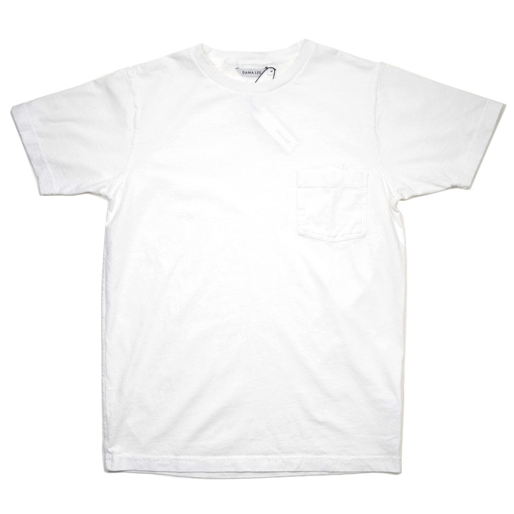 Dana Lee - Double-needle Tee - Scoured White