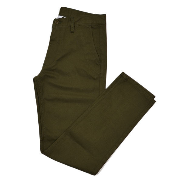 Dana Lee - Dry Chino - Brown / Olive