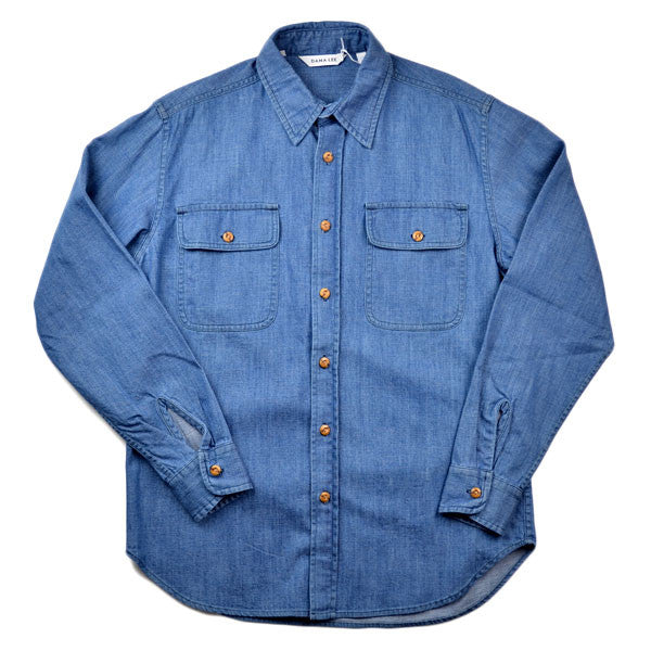 Dana Lee – Castaway Shirt – Sanded Denim