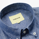 De Bonne Facture - Button-Down Shirt - Denim Blue