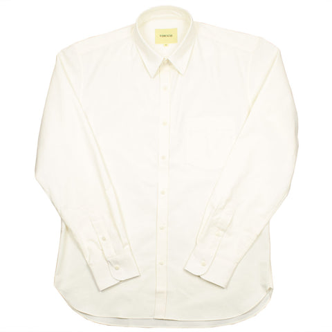De Bonne Facture - Cotton Canvas Essential Pocket Shirt - Ecru