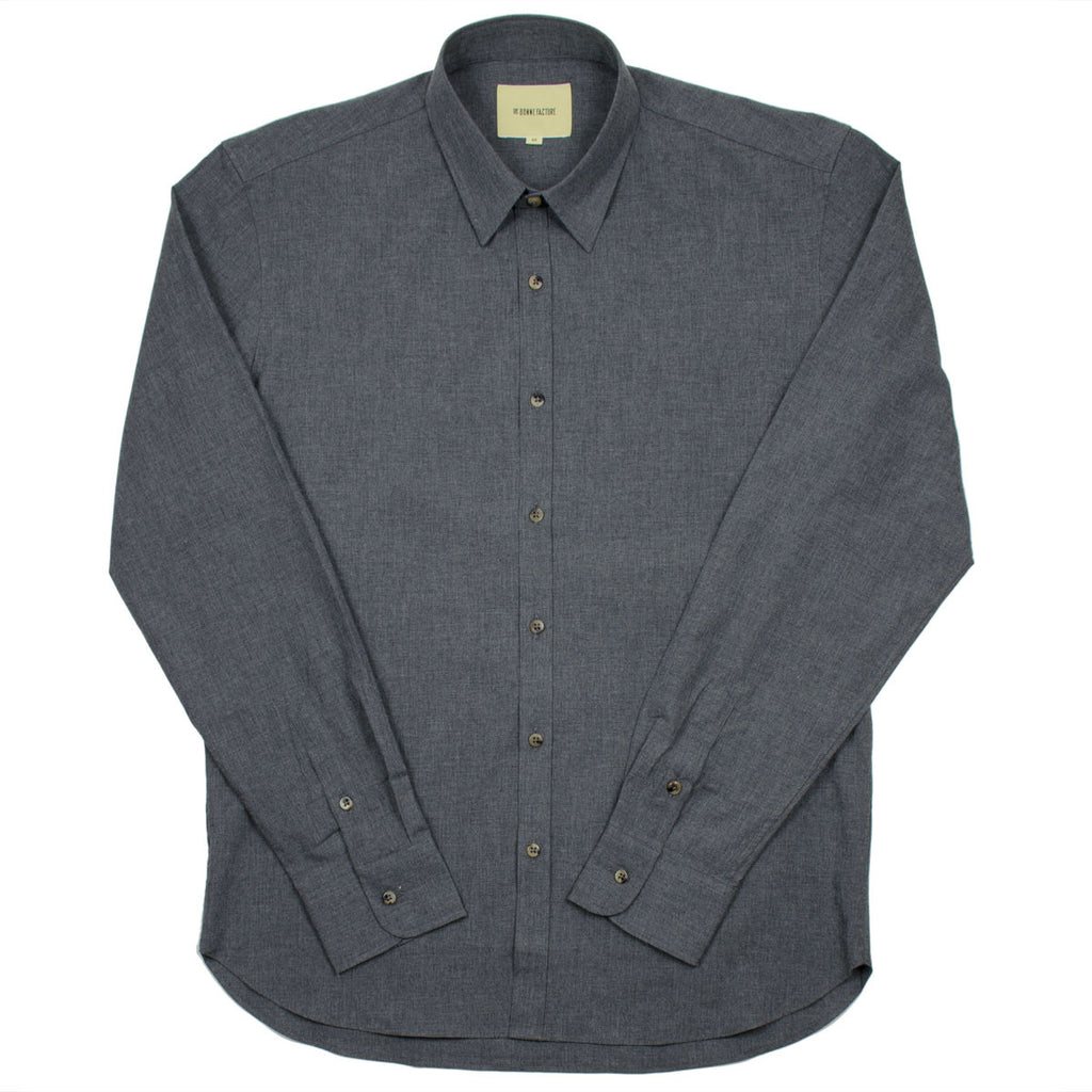 De Bonne Facture - Essential Shirt - Dark Grey