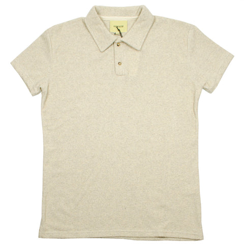 De Bonne Facture - Polo Shirt - Heathered Beige