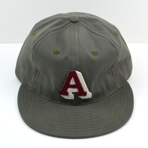 Ebbets Field Flannels - Atlanta Crackers 1939 Cap (Adjustable Cotton) - Moss