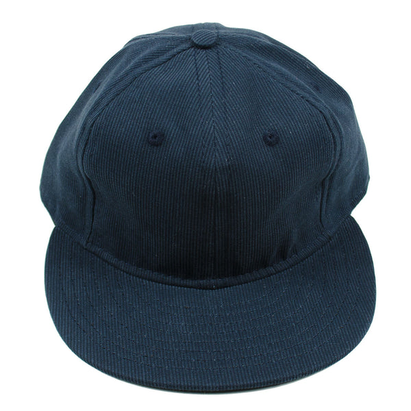 Ebbets - Basic Adjustable Cap - Dark Navy Bedford Cord Cotton