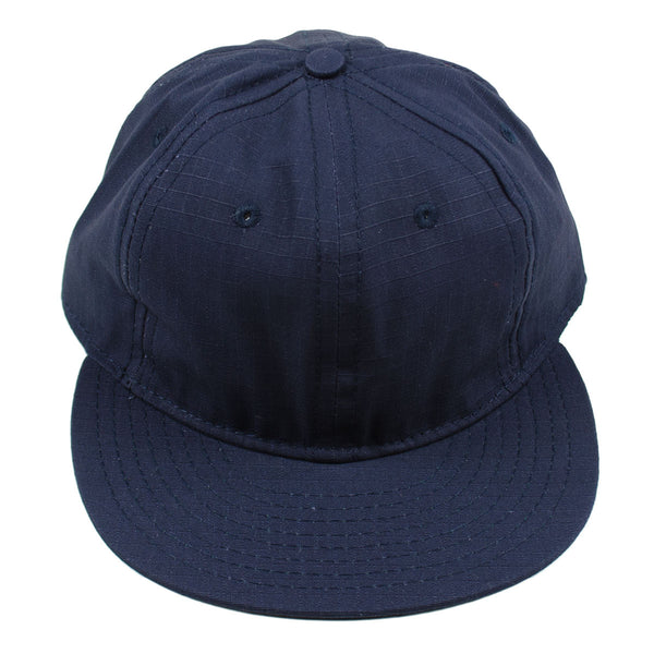 Ebbets - Basic Adjustable Cap - Navy Ripstop Cotton