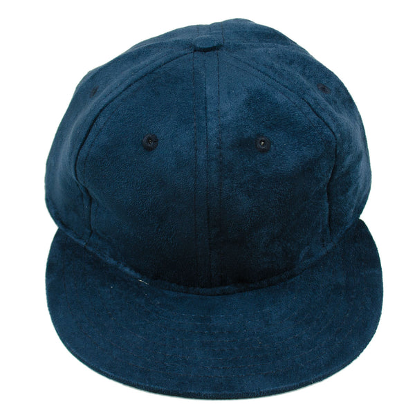 Ebbets - Basic Adjustable Cap - Navy Suede