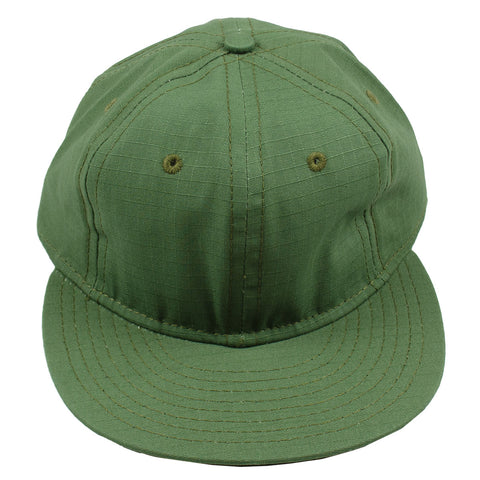 Ebbets - Basic Adjustable Cap - Olive Drab Ripstop Cotton