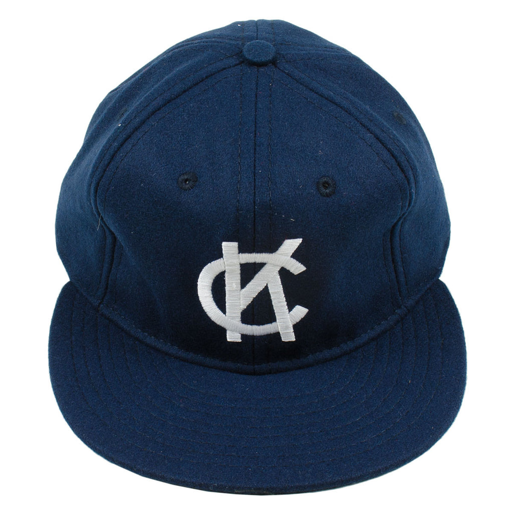 Ebbets - Kansas City Blues 1947 Adjustable Cap - Navy Wool