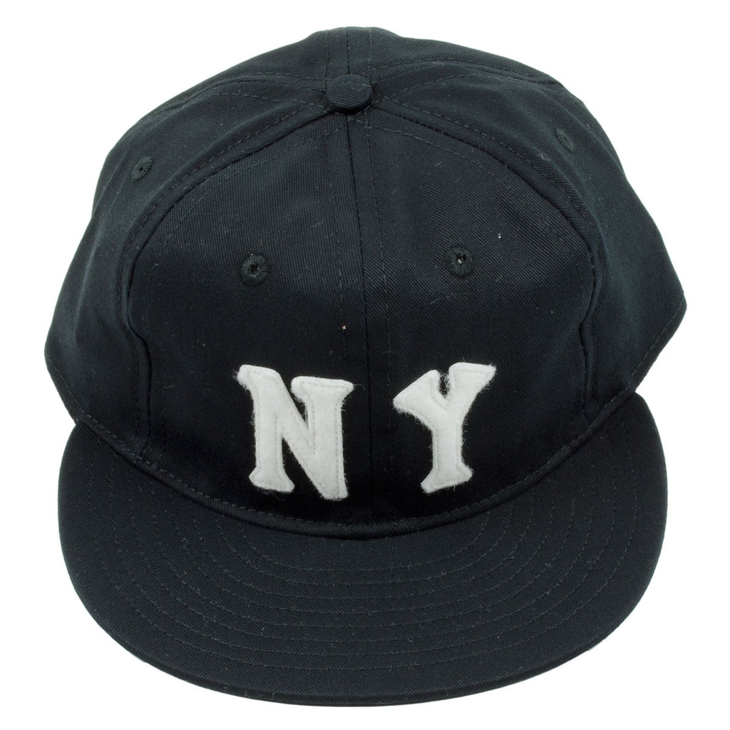 Ebbets - New York Black Yankees 1936 Cap (Adjustable Cotton) - Black