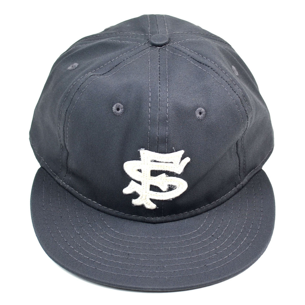 Ebbets - San Francisco Seals 1949 Cap (Adjustable) - Charcoal