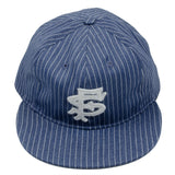 Ebbets - San Francisco Seals 1949 Cap (Adjustable Cotton) - Denim