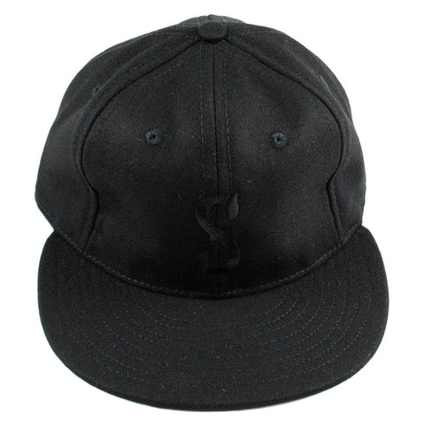 Ebbets - San Francisco Seals Adjustable Cap - Black Wool
