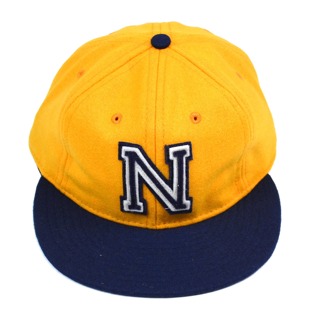 Ebbets - US Naval Academy 1959 Cap (Adjustable Wool) - Gold / Navy