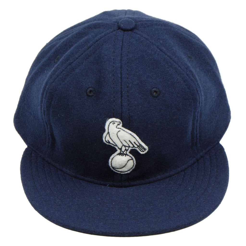 Ebbets - Waterloo White Hawks 1952 Cap (Adjustable Wool) - Navy