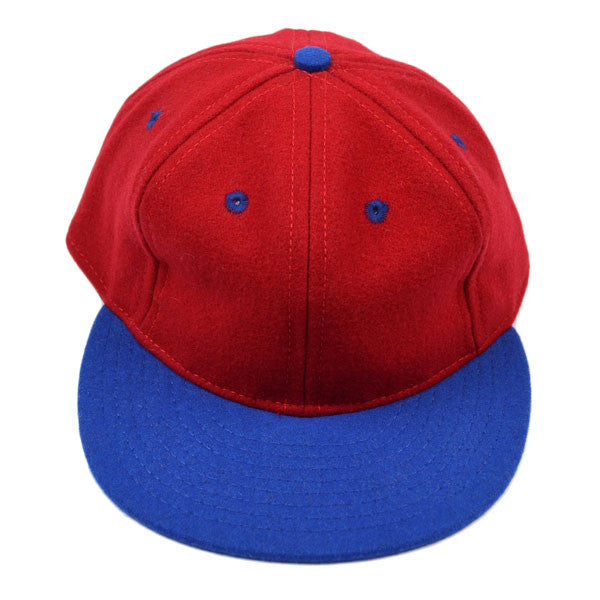 Ebbets Field Flannels – Ebbets Classic (Fitted) – Red / Blue