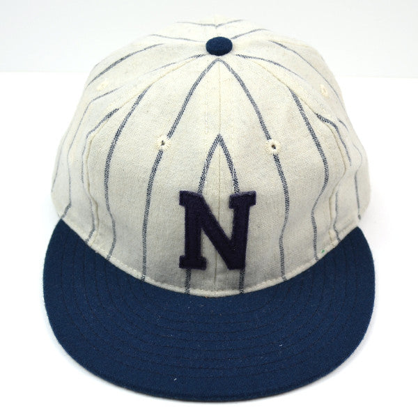 Ebbets Field Flannels – N League (Adjustable) – White / Navy