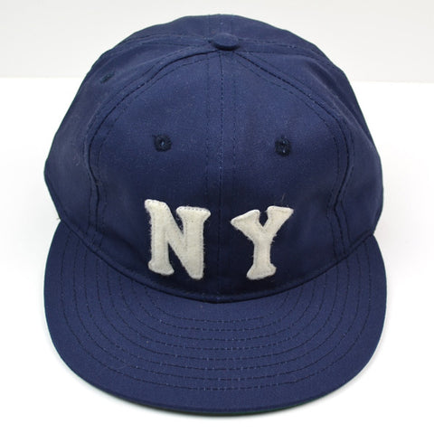 Ebbets - New York Black Yankees 1936 Cap (Adjustable Cotton) - Navy